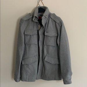 Buffalo David Bitton medium m grey wool jacket